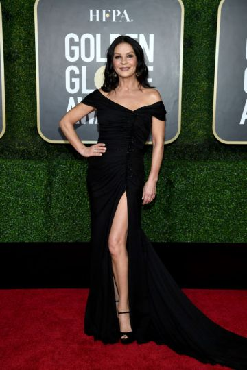 Catherine Zeta-Jones attends the 78th Annual Golden Globe® Awards at The Rainbow Room on February 28, 2021 in New York City.  (Photo by Dimitrios Kambouris/Getty Images for Hollywood Foreign Press Association)