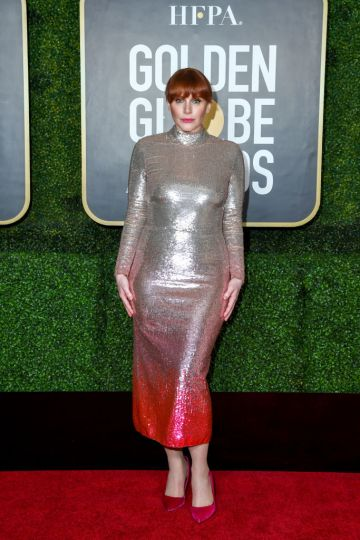 Bryce Dallas Howard attends the 78th Annual Golden Globe® Awards at The Rainbow Room on February 28, 2021 in New York City.  (Photo by Dimitrios Kambouris/Getty Images for Hollywood Foreign Press Association)