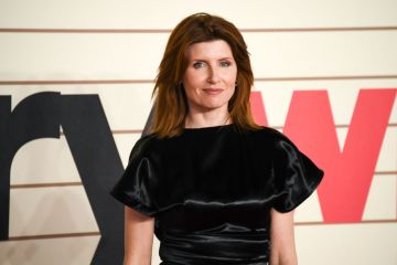 Actress, writer, comedian and producer Sharon Horgan was raised in Co. Meath. She is best known for her roles in 'Divorce', 'Pulling' and 'This Way Up'.   (Photo by Alberto Pezzali/NurPhoto via Getty Images)