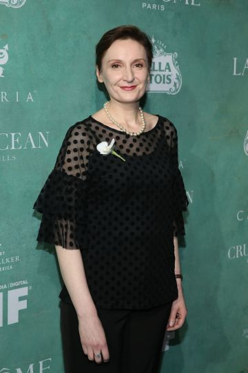 Director, animator, writer and producer Nora Twomey has lent her hand to works such as 'The Secret of Kells' (2009), 'Wolfwalkers' (2020) and 'The Breadwinner'.   (Photo by Phillip Faraone/Getty Images)