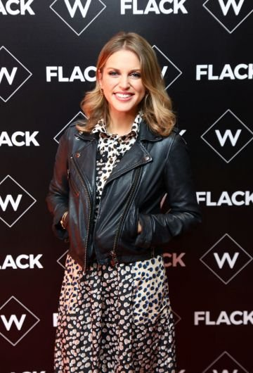 Dublin native Amy Huberman kicked off her career in TV drama series 'The Clinic' in 2003. Most recently, Amy has written and starred in 'Finding Joy'.  (Photo by Tim P. Whitby/Tim P. Whitby/Getty Images)