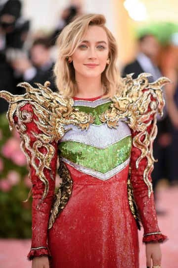 Actress Saoirse Ronan burst onto the acting scene in 2007 when she featured in 'Atonement' at the age of 13. Since then, she has taken on major roles in films such as 'The Lovely Bones', 'Brooklyn' and 'Little Women'.   (Photo by Neilson Barnard/Getty Images)