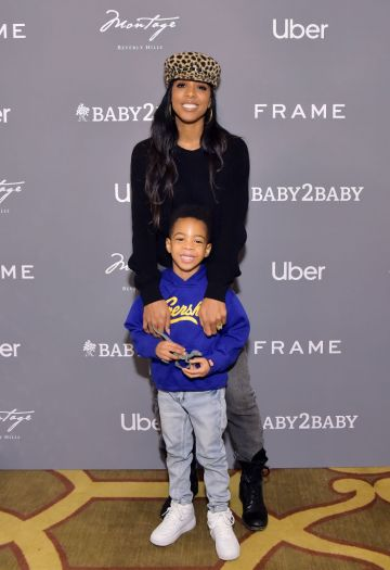 Kelly Rowland and Titan Jewell Weatherspoon attend The Baby2Baby Holiday Party Presented By FRAME And Uber at Montage Beverly Hills on December 15, 2019 in Beverly Hills, California. (Photo by Stefanie Keenan/Getty Images for Baby2Baby)