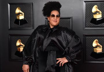 Brittany Howard attends the 63rd Annual GRAMMY Awards at Los Angeles Convention Center in Los Angeles, California and broadcast on March 14, 2021. (Photo by Kevin Mazur/Getty Images for The Recording Academy )