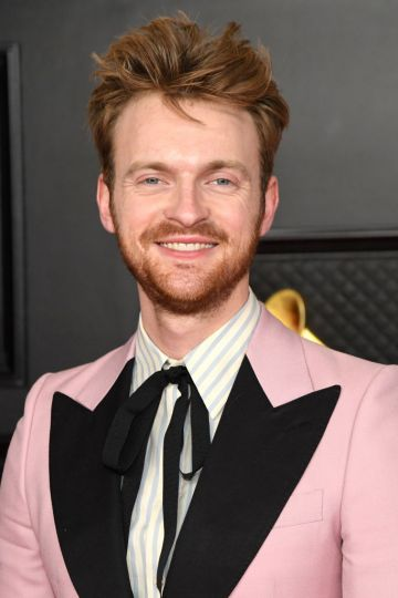 FINNEAS attends the 63rd Annual GRAMMY Awards at Los Angeles Convention Center on March 14, 2021 in Los Angeles, California. (Photo by Kevin Mazur/Getty Images for The Recording Academy )