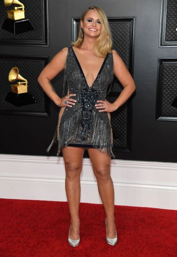 Miranda Lambert attends the 63rd Annual GRAMMY Awards at Los Angeles Convention Center in Los Angeles, California and broadcast on March 14, 2021. (Photo by Kevin Mazur/Getty Images for The Recording Academy )