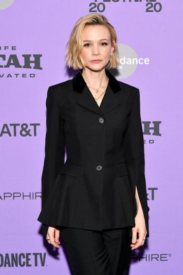 """Carey Mulligan attends the 2020 Sundance Film Festival - """"Promising Young Woman"""" Premiere at The Marc Theatre on January 25, 2020 in Park City, Utah. (Photo by Dia Dipasupil/Getty Images)"""