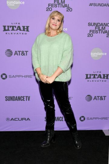 """Director Emerald Fennell attends the 2020 Sundance Film Festival - """"Promising Young Woman"""" Premiere at The Marc Theatre on January 25, 2020 in Park City, Utah. (Photo by Dia Dipasupil/Getty Images)"""