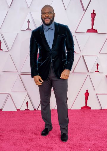 Tyler Perry attends the 93rd Annual Academy Awards at Union Station on April 25, 2021 in Los Angeles, California. (Photo by Chris Pizzello-Pool/Getty Images)