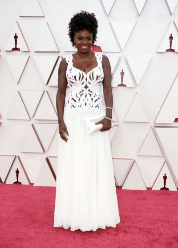 Viola Davis attends the 93rd Annual Academy Awards at Union Station on April 25, 2021 in Los Angeles, California. (Photo by Matt Petit/A.M.P.A.S. via Getty Images).