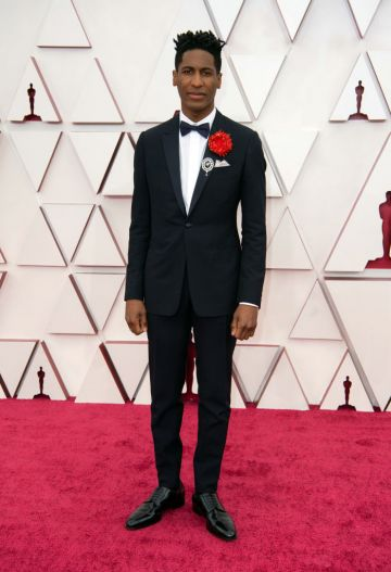 Jon Batiste attends the 93rd Annual Academy Awards at Union Station on April 25, 2021 in Los Angeles, California. (Photo by Matt Petit/A.M.P.A.S. via Getty Images)