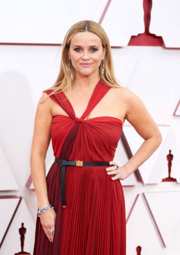 Reese Witherspoon attends the 93rd Annual Academy Awards at Union Station on April 25, 2021 in Los Angeles, California. (Photo by Matt Petit/A.M.P.A.S. via Getty Images)
