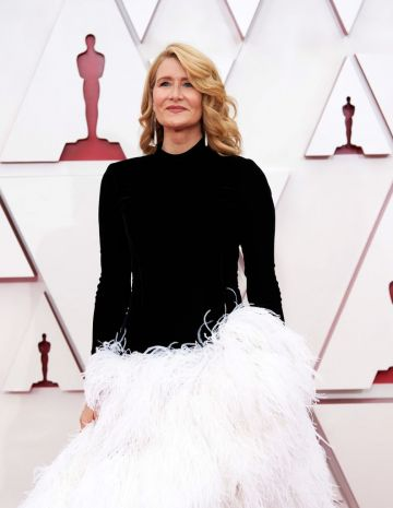 Laura Dern attends the 93rd Annual Academy Awards at Union Station on April 25, 2021 in Los Angeles, California. (Photo by Matt Petit/A.M.P.A.S. via Getty Images)