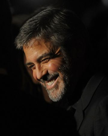 Actor George Clooney attends the 2009 New York Film Critic's Circle Awards  at Crimson on January 11, 2010 in New York City.  (Photo by Stephen Lovekin/Getty Images)