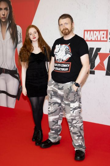 Anna Doc Huysmans pictured at the Irish Special Preview Screening Marvel Studios Black Widow. Picture Andres Poveda
