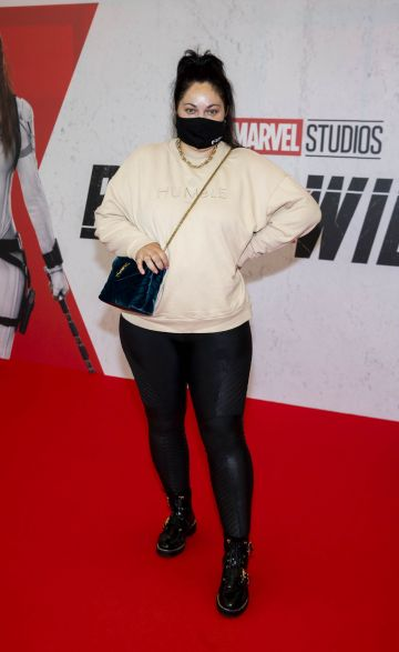 Grace Mongey pictured at the Irish Special Preview Screening Marvel Studios Black Widow. Picture Andres Poveda