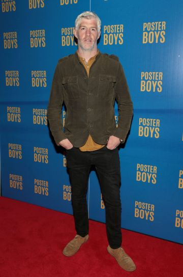 Actor Kieran O'Reilly pictured at the gala preview screening of Poster Boys at Omniplex , Rathmines,Dublin.  Picture PIP