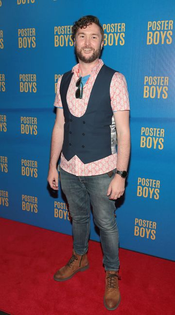 Director Dave Minogue pictured at the gala preview screening of Poster Boys at Omniplex , Rathmines,Dublin.  Picture PIP