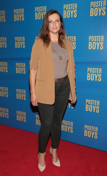 Laura Way pictured at the gala preview screening of Poster Boys at Omniplex , Rathmines,Dublin.  Picture PIP