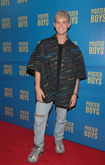 Adam Fogarty  pictured at the gala preview screening of Poster Boys at Omniplex , Rathmines,Dublin.  Picture PIP