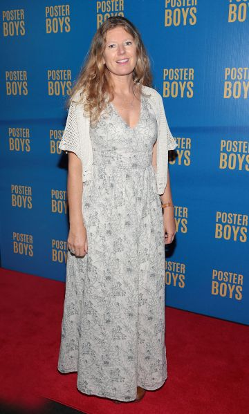 Vyvienne Long pictured at the gala preview screening of Poster Boys at Omniplex , Rathmines,Dublin.  Picture PIP