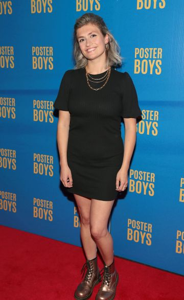 Actress Amy Hughes pictured at the gala preview screening of Poster Boys at Omniplex , Rathmines,Dublin.  Picture PIP