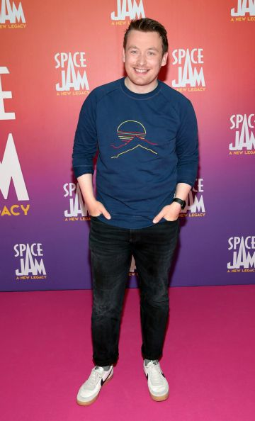 Richard Chambers at the Irish Premiere screening of Space Jam : A New Legacy at the Odeon Cinema in Point Square,Dublin Picture PIP