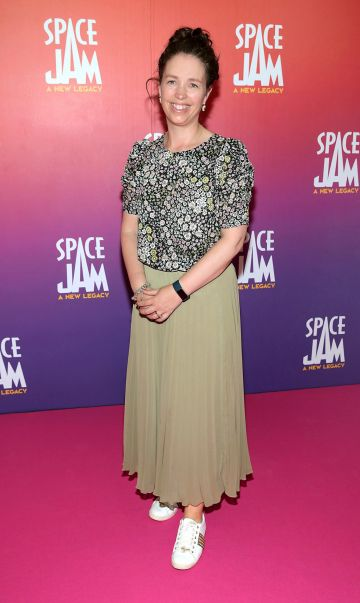Yvonne Carey at the Irish Premiere screening of Space Jam : A New Legacy at the Odeon Cinema in Point Square,Dublin Picture PIP