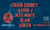 Craig Cooney, Aaron J, and Wax White