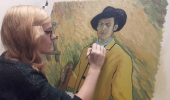 Sandra Hickey - Where Two Styles Meet - Loving Vincent Inspired