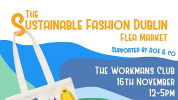 The Sustainable Fashion Dublin Flea Market