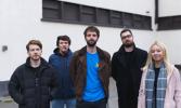 Irish band Silverbacks