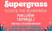 Supergrass | Echo and the Bunnymen | Fun Lovin' Criminals ~CANCELLED~