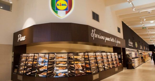 lidl tests new store layout in italy esm magazine. Black Bedroom Furniture Sets. Home Design Ideas
