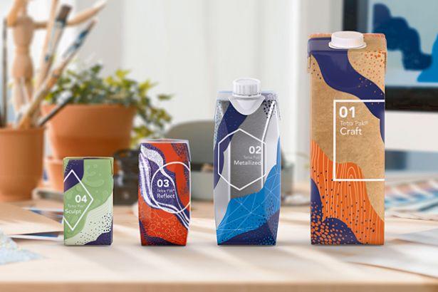 Компания Tetra Pak предложила уникальную серию упаковки Tetra Pak Artistry