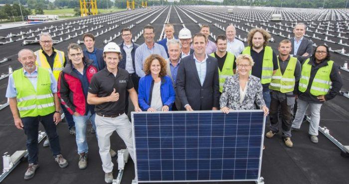 Albert Heijn Installs Solar Panels At Pijnacker Distribution Centre