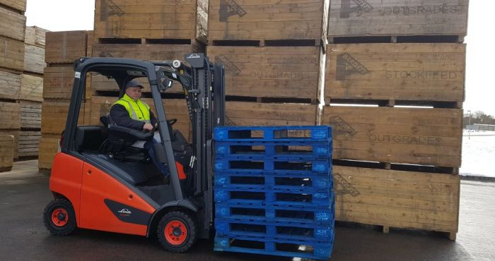 CHEP Pooled Pallets Help Albert Bartlett Gain Environmental