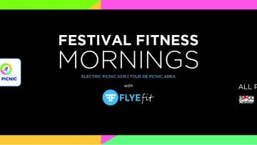 FLYEfit Festival Fitness Mornings (Electric Picnic 2018)