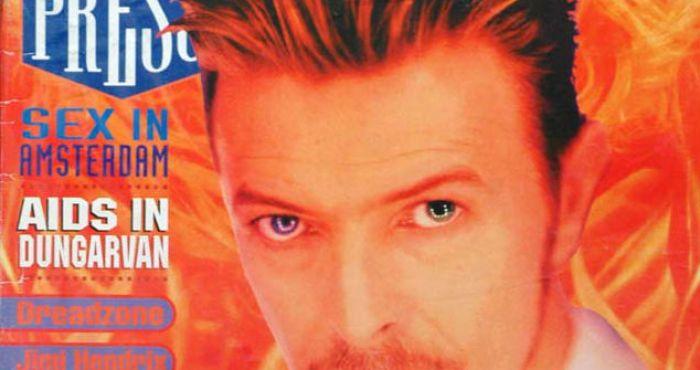 David Bowie Tribute When Hot Press Met Bowie In La Hotpress