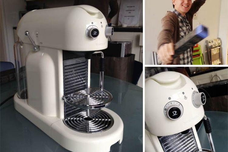Nespresso Maestria coffee maker: First impressions