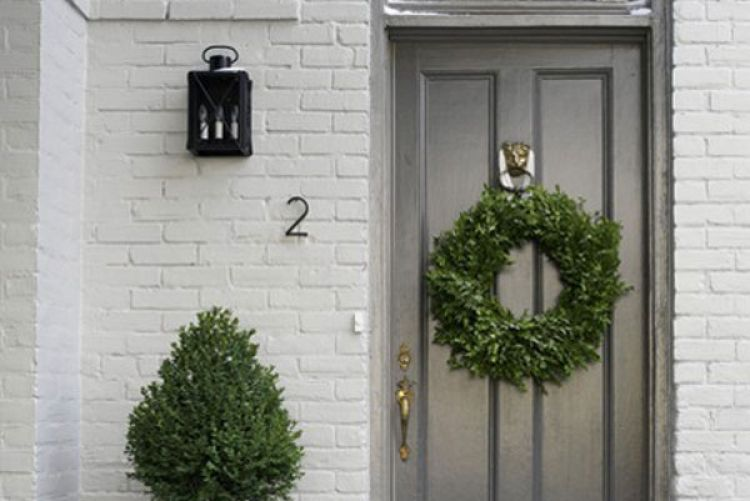 Paint your front door a bright colour this summer