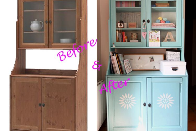 IKEA cabinet makeover