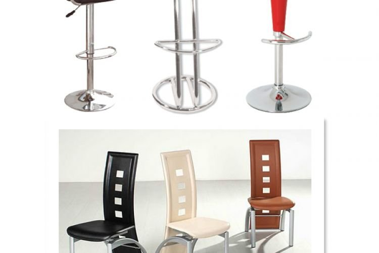 Celtic Tiger Crimes against Interiors #5 Chrome and leather furniture