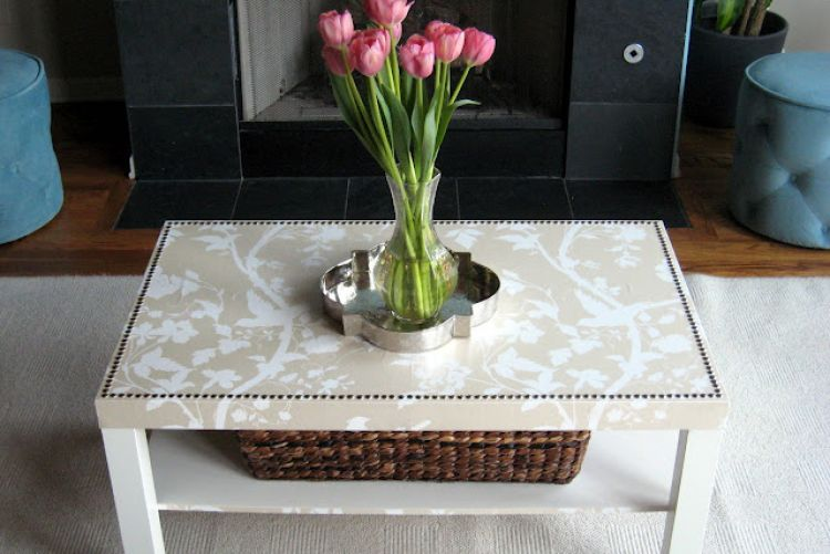 LACK table makeover for under €40
