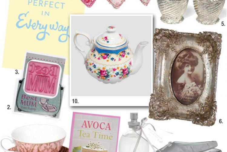 Our Top 10 gift ideas for Mothers Day..