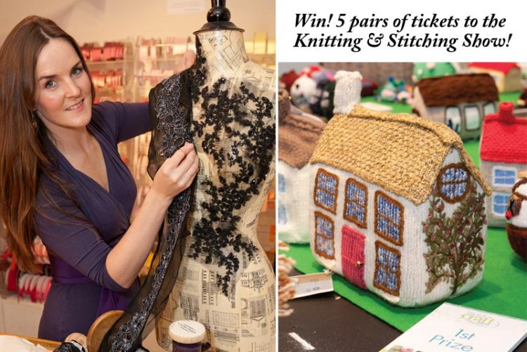 Win 1 of 5 sets of tickets to the Knitting & Stitching Show 2012