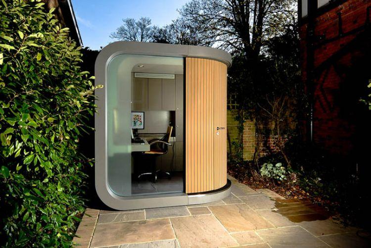backyard office pod. The OfficePOD \u0026 How To Work In A Small Space Backyard Office Pod