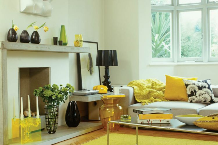 Sunny Delight: get some mellow yellow in your interior