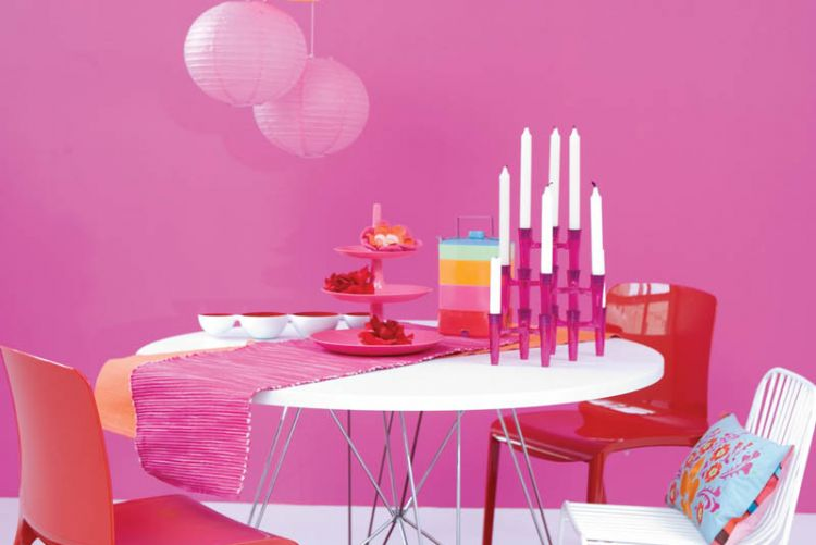 Happy Home: why decorating with pink is great for your mood