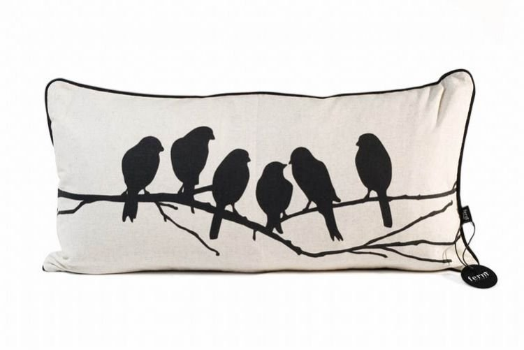 Addicted to Twitter? Wing it with 3 bird-themed cushions